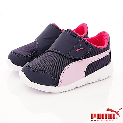 PUMA童鞋 KNOERFIT款 ON90943-06紫桃(小童段)
