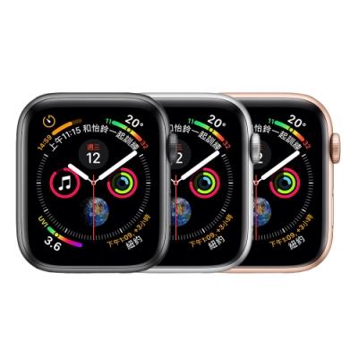 【福利品】Apple Watch Series 4 (GPS+行動網路) 40mm 不鏽鋼錶殼