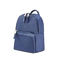 MARCO LAURENTLissome輕盈尼龍後背包(中)- 藍色
