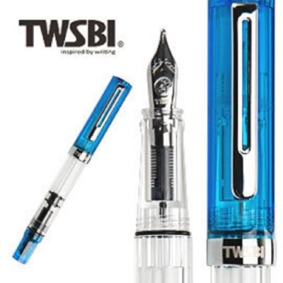 台灣三文堂鋼筆 TWSBI ECO果凍藍 EF