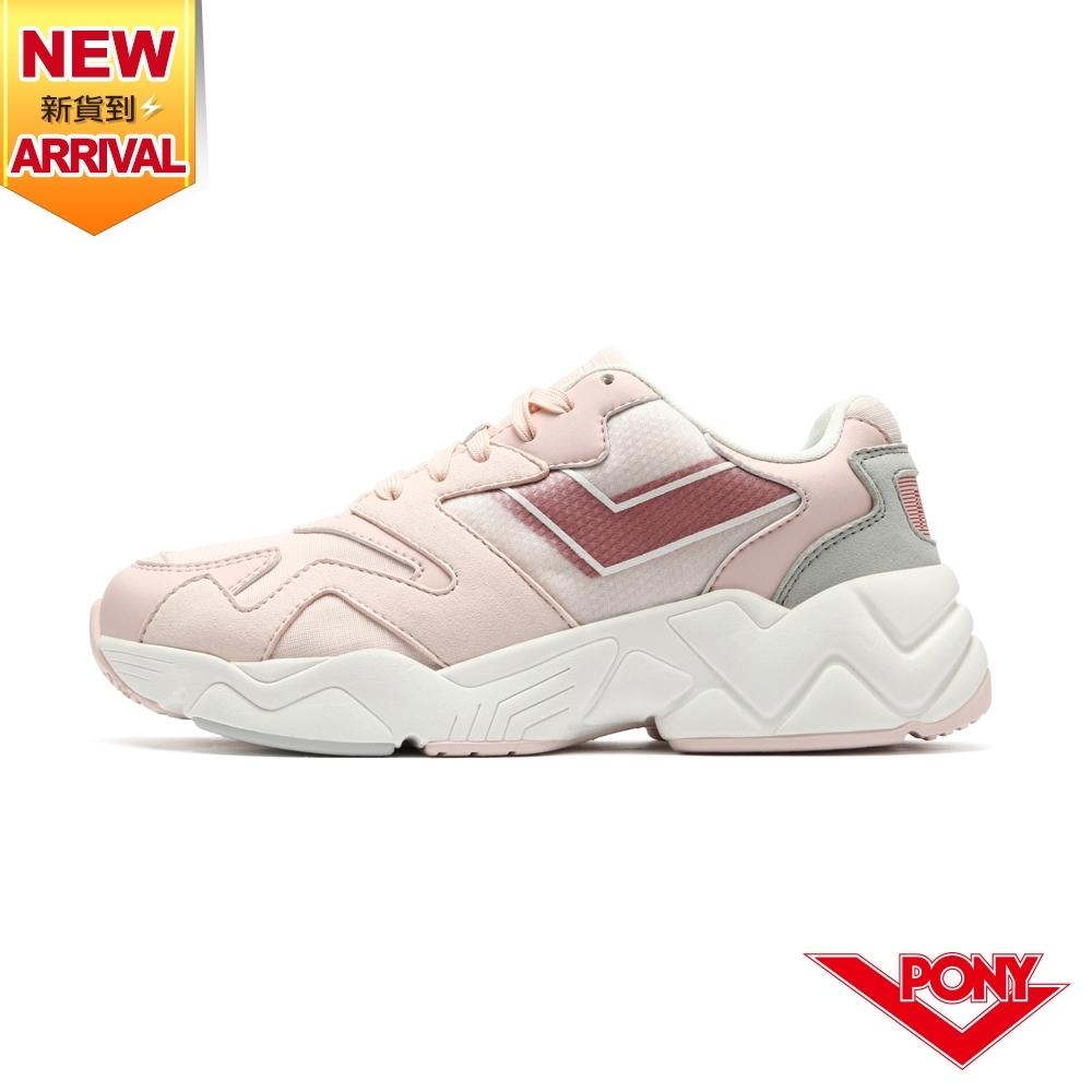 【PONY】MODERN 2 電光鞋 老爹鞋 女鞋-粉