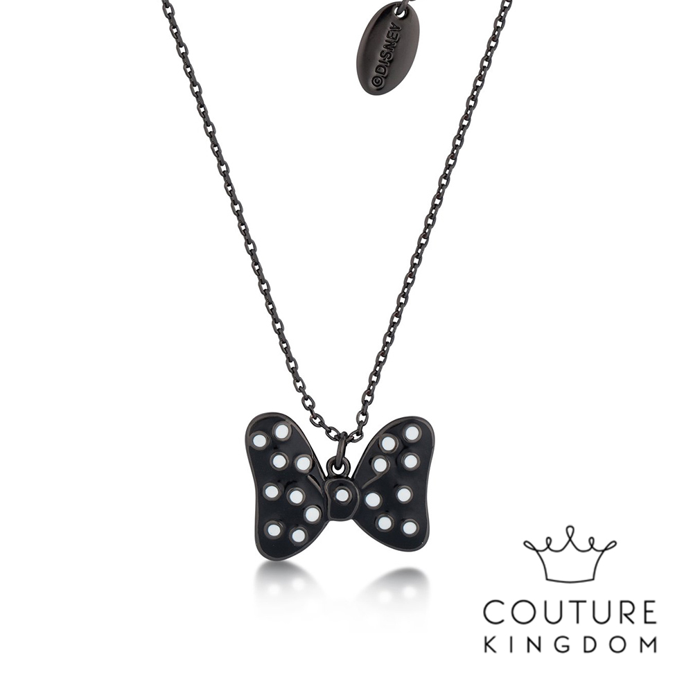 Disney Jewellery by Couture Kingdom米妮蝴蝶結鍍琺瑯項鍊 product image 1
