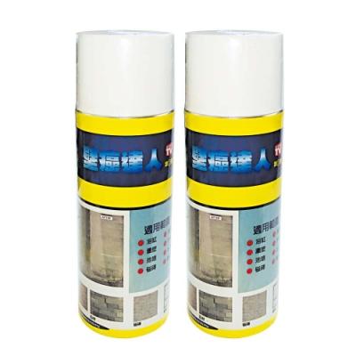 防漏大師-壁癌專家DIY塑鋼噴漆/防水噴漆(2瓶)