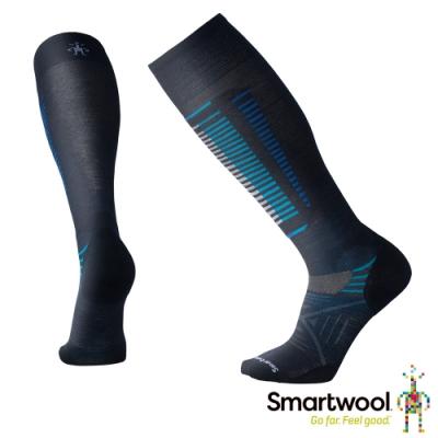 SmartWool PhD Free Ski滑雪輕量減震高筒襪 深海軍藍