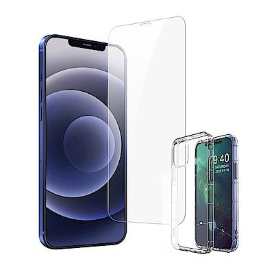 [買保護貼送手機殼] iPhone 12 非滿版 高清透明 手機 保護貼 (iPhone12保護貼 iPhone12鋼化膜 鋼化膜 )
