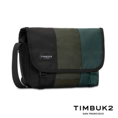 Timbuk2 Classic Messenger 11 吋經典平板郵差包 - 墨綠拼色