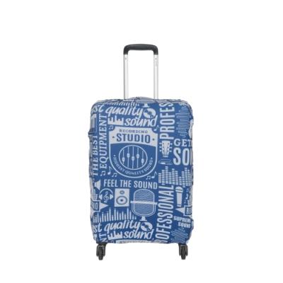【OUTDOOR】行李箱保護套-聲音-L ODS19B03LSD