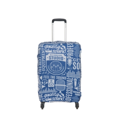 【OUTDOOR】行李箱保護套-聲音-XL ODS19B04XLSD