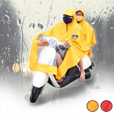 Incare 單雙人兩穿式加大加厚摩托車雨衣(1件入)[限時搶]