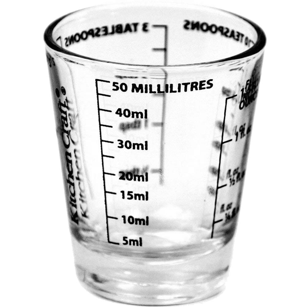 《KitchenCraft》迷你五刻度玻璃量杯(50ml)