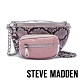 STEVE MADDEN-BSUMMITM 時下潮流 金屬鍊條蛇皮壓紋腰包-粉色 product thumbnail 1