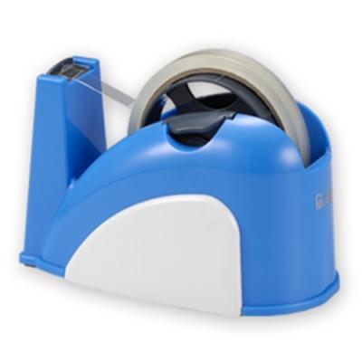 【ABEL】TD130小巧鯨膠帶台-(藍/白)