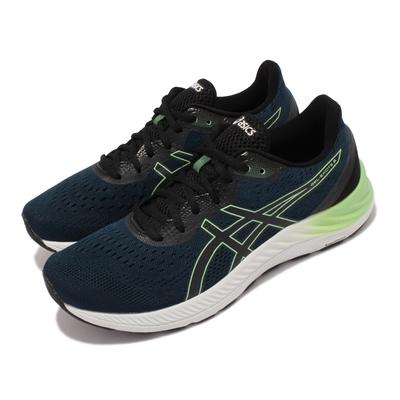 Asics 慢跑鞋 Gel Excite 8 運動休閒 男鞋 亞瑟士 路跑 緩震 輕量 透氣 亞瑟膠 藍 白 1011B036415