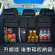 升級版 汽車後車箱掛式收納袋 後座椅背置物網袋/車用掛袋 休旅車適用 product thumbnail 1