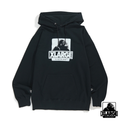 XLARGE OG PULLOVER HOODED SWEAT連帽上衣-黑
