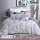 Tonia Nicole東妮寢飾 花信之年環保印染100%萊賽爾天絲兩用被床包組(雙人) product thumbnail 1