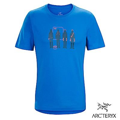 Arcteryx 始祖鳥 男 USUAL SUSPEC 有機棉 短袖休閒Tee 參宿藍