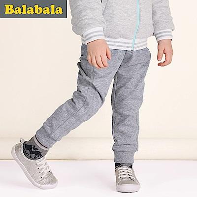 Balabala巴拉巴拉-側邊壓條運動棉褲-男(4色)