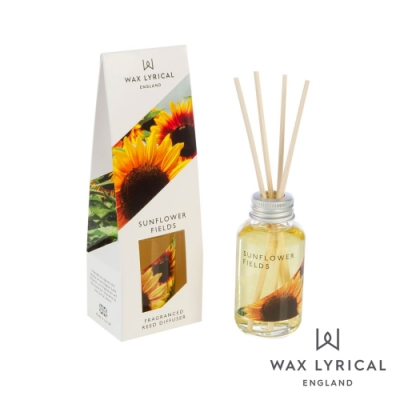 英國 Wax Lyrical 英式經典系列擴香瓶 向日葵 Sunflower 40ml