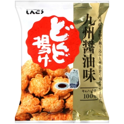 Shinko 咚咚揚米果-醬油風味(81g)