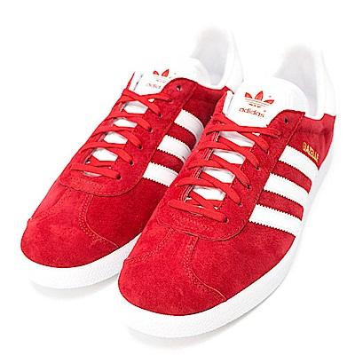 ADIDAS-GAZELLE男休閒鞋S76228-紅