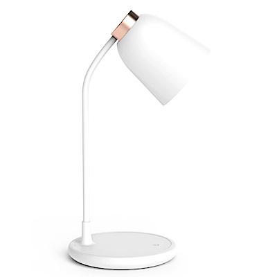 ANTIAN 米韻LED臺燈 觸控無極調光護眼檯燈 智慧USB充電小夜燈