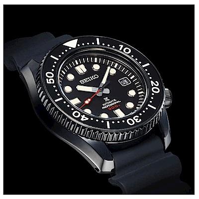 SEIKO 精工 Prospex 進化限量黑魂潛水機械錶 SLA035J1