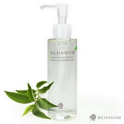 BLOSSOM 綠茶植萃淨白保濕煥采深層潔顏油(150ML/瓶)*1件組