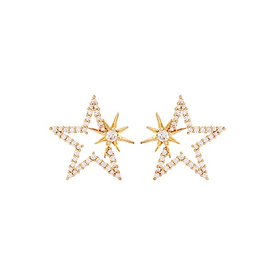 NOONOO FINGERS STAR EARRING 星星 耳環