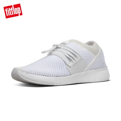 FitFlop- AIRMESH LACE-UP SNEAKERS 都會白