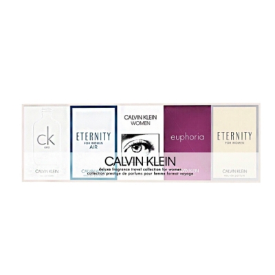 Calvin Klein CK 女性小香<b>5</b>入禮盒組