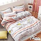 FOCA國王殿下-雙人-100%精梳純棉四件式兩用被床包組