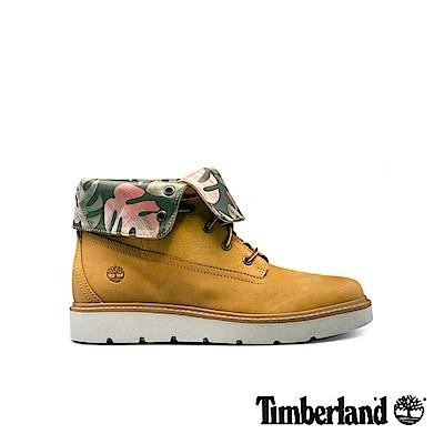 Timberland 女款印花翻領黃靴|A1N2R231