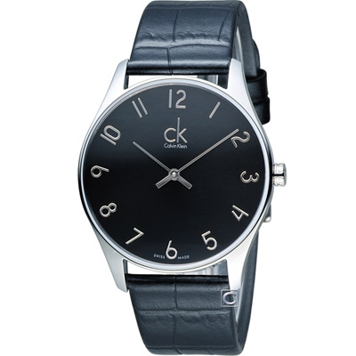 Calvin Klein Classic 簡約經典時尚腕錶(K4D211CX)