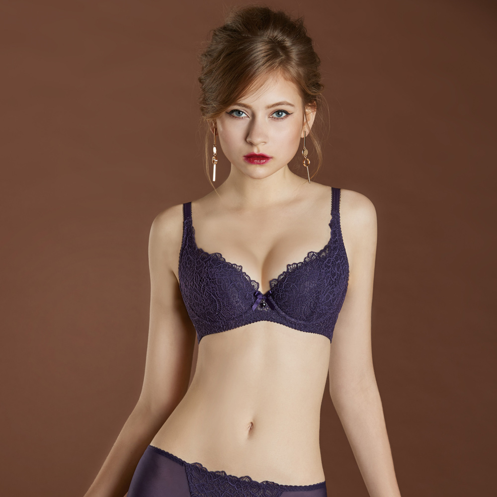 瑪登瑪朵 無敵美G內衣  B-D罩杯(摩登紫)