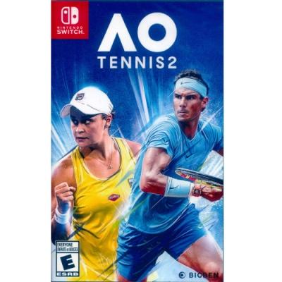 澳洲國際網球 2 中英文美版 AO Tennis 2 - NS Switch 中英文美版