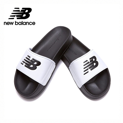 【New Balance】韓國涼拖鞋_中性_黑白_SD1101GBW-M楦