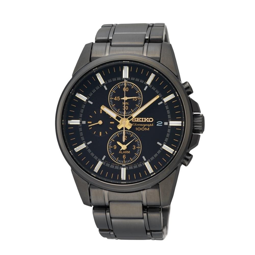 SEIKO精工 三眼計時時尚腕錶7T62-0LD0SD/SNAF07P1