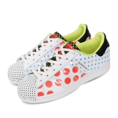 adidas 休閒鞋 Superstar 點點 女鞋