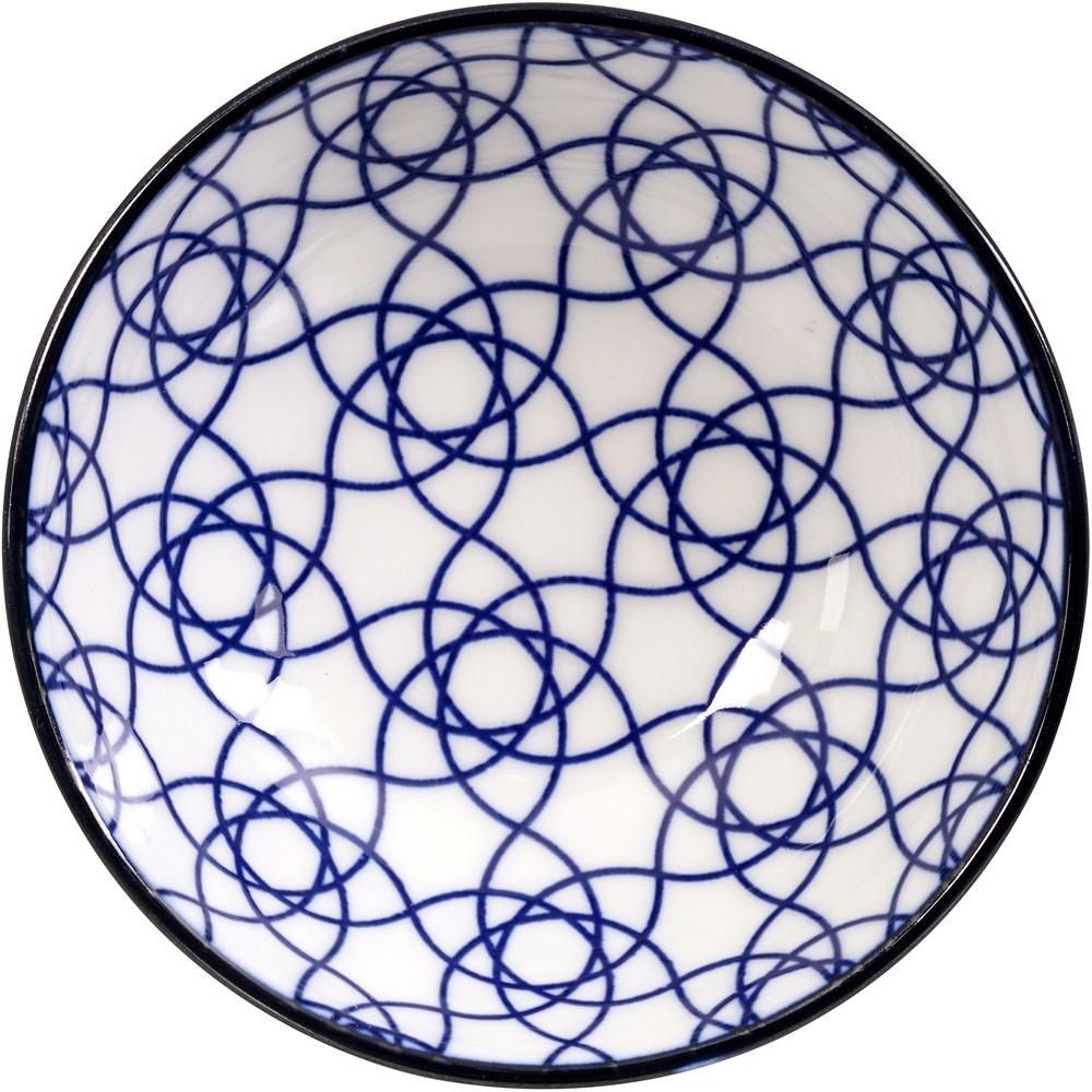 《Tokyo Design》瓷製醬料碟(花繩藍9cm)