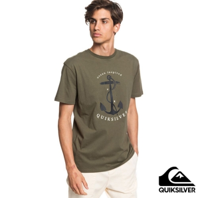 【QUIKSILVER】SAVIORS ROAD SS T恤 軍綠