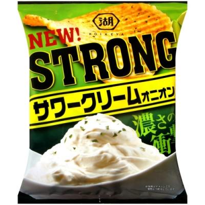 湖池屋 STRONG洋芋片-酸奶油洋蔥(56g)