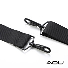 AOU 輕量活動式強化耐重背帶 側背帶 公事包背帶 尼龍背帶(黑-細圓式)03-007D3