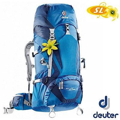 Deuter ACT Lite 35+10SL 登山健行攀登耐磨透氣背包_深藍/藍