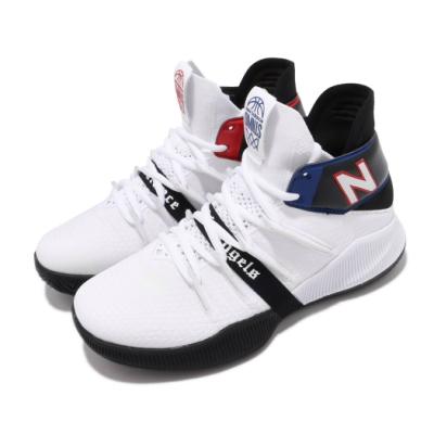 New Balance 籃球鞋 OMN1S Wide 寬楦 女鞋 紐巴倫 避震 包覆 運動 Kawhi 大童 白 黑 GBOMN1TEW