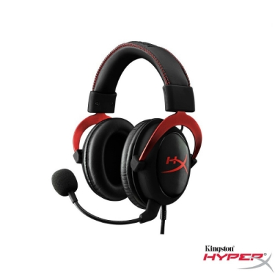 HyperX Cloud II Pro Gaming 電競耳機 (紅)