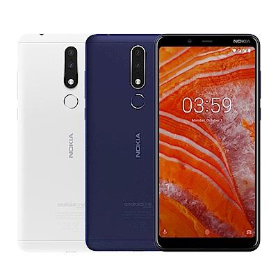 Nokia 3.1 Plus (3G/32G) 6吋雙主鏡頭智慧手機