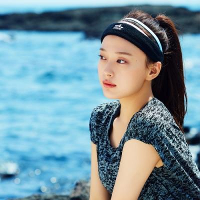 韓國 salua DryCool高彈力運動吸汗頭帶 吸濕排汗 五色可選