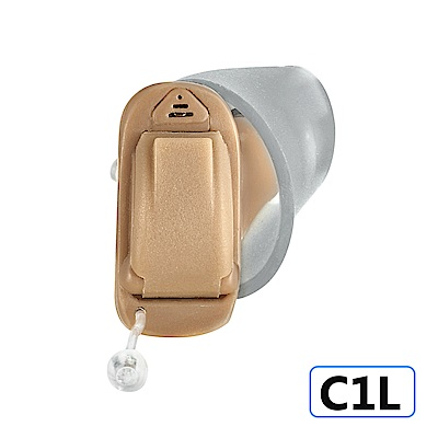 Mimitakara耳寶 數位8頻深耳道式助聽器-左耳 C1L [輕、中度聽損適用]