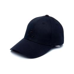 FILA 時尚LOGO帽-黑 HTU-5003-BK